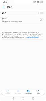 Huawei Mate 20 Lite - wifi - schakel Wi-Fi Assistentie uit - stap 6