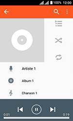 Alcatel U3 - Photos, vidéos, musique - Ecouter de la musique - Étape 7