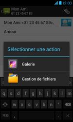 Bouygues Telecom Bs 401 - Contact, Appels, SMS/MMS - Envoyer un MMS - Étape 14