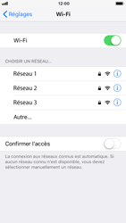 Apple iPhone 8 - iOS 12 - WiFi - Configuration du WiFi - Étape 5