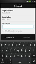 HTC One - Wifi - handmatig instellen - Stap 7