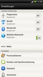 HTC One S - Internet und Datenroaming - Manuelle Konfiguration - Schritt 5