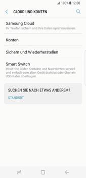 Samsung Galaxy S8 - Datenschutz und Sicherheit - Kontakte, E-Mail und Fotos mit Gmail synchronisieren - 5 / 10