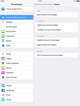 Apple iPad Pro 9.7 inch - E-Mail - Konto einrichten - 2 / 2