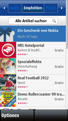 Nokia 5800 Xpress Music - Apps - Herunterladen - 0 / 0