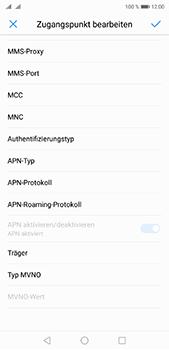 Huawei P20 Pro - MMS - Manuelle Konfiguration - 12 / 26