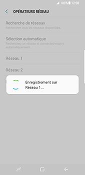 Samsung Galaxy S8 - Réseau - Sélection manuelle du réseau - Étape 10