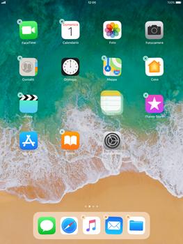 Apple iPad Air iOS 11 - Operazioni iniziali - Personalizzazione della schermata iniziale - Fase 4