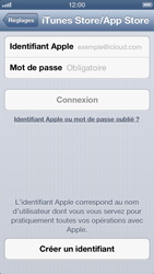 Apple iPhone 5 - Applications - Configuration de votre store d
