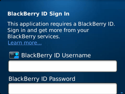 BlackBerry 9360 Curve - BlackBerry activation - BlackBerry ID activation - Step 6