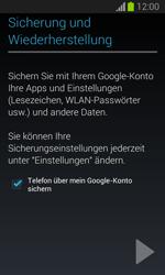 Samsung Galaxy Trend Lite - Apps - Einrichten des App Stores - Schritt 23