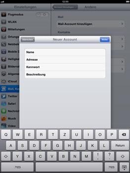 Apple iPad 2 - E-Mail - Konto einrichten - 9 / 23