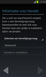Samsung I8190 Galaxy S III Mini - Applicaties - Account aanmaken - Stap 8