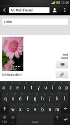 HTC One Mini - MMS - Erstellen und senden - Schritt 20