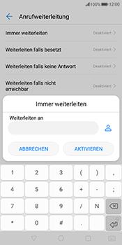 Huawei Mate 10 Pro - Anrufe - Rufumleitungen setzen und löschen - Schritt 7
