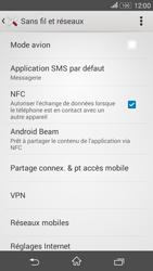 Sony Xperia E4g - Aller plus loin - Désactiver les données à l'étranger - Étape 5