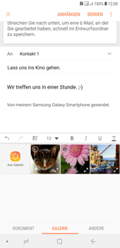 Samsung Galaxy J4+ - E-Mail - E-Mail versenden - Schritt 13