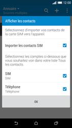 HTC Desire 610 - Contact, Appels, SMS/MMS - Ajouter un contact - Étape 4
