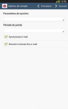 Samsung Galaxy Tab 3 8 4G - E-mails - Ajouter ou modifier un compte e-mail - Étape 17