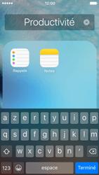 Apple iPhone 5c iOS 9 - Prise en main - Personnalisation de votre écran d