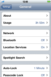 Apple iPhone 4 - MMS - Manual configuration - Step 4