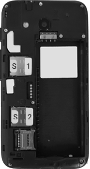 Alcatel U3 - Premiers pas - Insérer la carte SIM - Étape 6