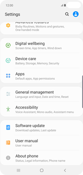 Samsung Galaxy S10 Plus - Software - Installing software updates - Step 5