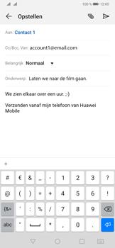 Huawei P30 - E-mail - e-mail versturen - Stap 9