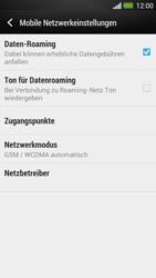 HTC One - Ausland - Im Ausland surfen – Datenroaming - 9 / 11