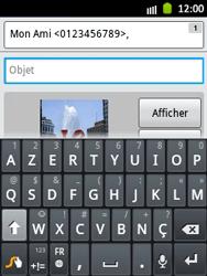 Samsung S5300 Galaxy Pocket - MMS - envoi d'images - Étape 13