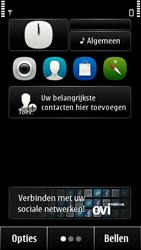 Nokia 500 - SMS - handmatig instellen - Stap 1