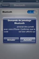 Apple iPhone 4 - Bluetooth - Jumelage d