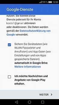 Huawei P9 Plus - Apps - Konto anlegen und einrichten - Schritt 16