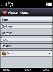 Doro 6520 - Internet et connexion - Naviguer sur internet - Étape 13