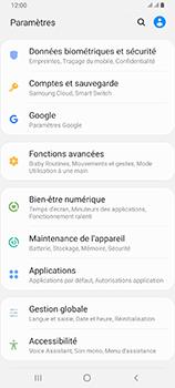 Samsung Galaxy A80 - Prise en main - Comment activer un code SIM - Étape 4