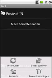 Samsung Galaxy Spica (GT-i5700) - E-mail - Hoe te versturen - Stap 5