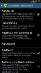Samsung Galaxy S4 Mini LTE - Anrufe - Rufumleitungen setzen und löschen - 0 / 0