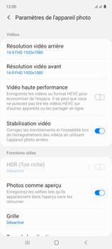 Samsung Galaxy A71 - Photos, vidéos, musique - Créer une vidéo - Étape 7
