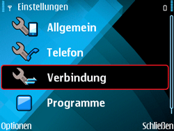 Nokia E71 - Internet - Manuelle Konfiguration - 6 / 29