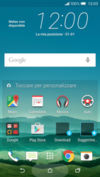 HTC One M9 - Internet e roaming dati - Disattivazione del roaming dati - Fase 1