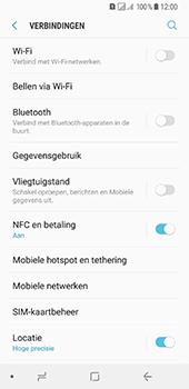 Samsung Galaxy A8 (2018) - Wi-Fi - Verbinding maken met Wi-Fi - Stap 5
