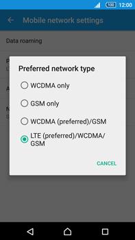 Sony Xperia Z5 Premium (E6853) - Network - Change networkmode - Step 8