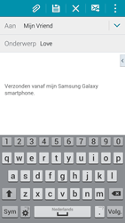 Samsung Galaxy S5 Mini - e-mail - hoe te versturen - stap 9