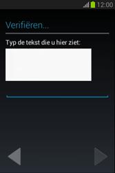 Samsung S6790 Galaxy Fame Lite - apps - account instellen - stap 21