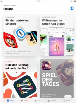 Apple iPad Air 2 - Apps - Löschen und wiederherstellen von vorinstallierten iOS-Apps - 7 / 13