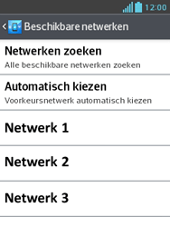 LG E430 Optimus L3 II - netwerk en bereik - gebruik in binnen- en buitenland - stap 9