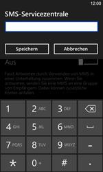 Nokia Lumia 925 - SMS - Manuelle Konfiguration - Schritt 7