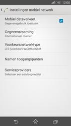 Sony Xperia E4g (E2003) - Internet - Internet gebruiken in het buitenland - Stap 10