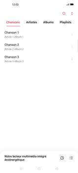 Oppo Find X2 Pro - Photos, vidéos, musique - Ecouter de la musique - Étape 5
