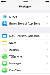 Apple iPhone 4 S - iOS 8 - E-mail - Configuration manuelle - Étape 3